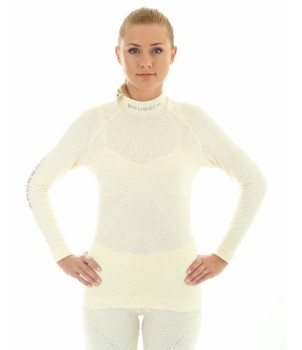 Brubeck Wool (Extrime Merino) Футболка женская экрю