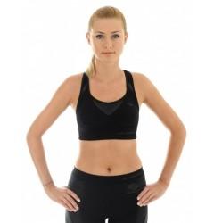 Brubeck Thermo Fitness Топ-бра (бюстгальтер) спортивный черный S