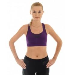 Brubeck Thermo Fitness Топ-бра (бюстгальтер) спортивный фиолетовый