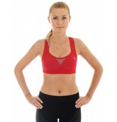 Brubeck Thermo Fitness Топ-бра (бюстгальтер) спортивный красный