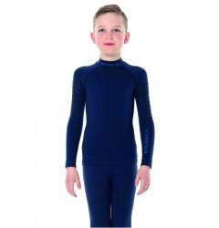 Brubeck Thermo Nilit Heat Футболка подростковая с длинным рукавом синяя