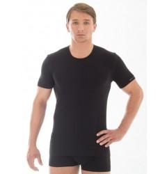 Brubeck Comfort Cotton Футболка мужская T-Shirt c коротким рукавом синяя