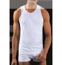 Brubeck Comfort Cotton Майка мужская Tank Basic белая