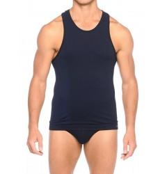 Brubeck Comfort Cotton Майка мужская Tank Basic синяя