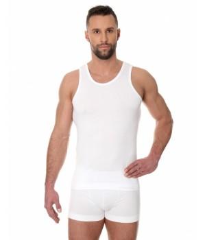 Brubeck Comfort Cotton Майка мужская Tank Classic белая