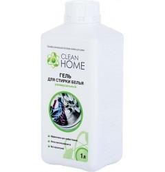 CLEAN HOME Гель для стирки белья 1л (универсальный)