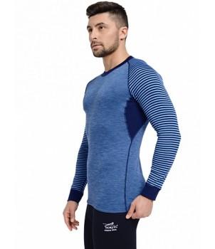 Norveg Climat Control Термофутболка мужская Цвет синий+голубой