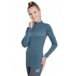 Norveg Soft City Style Водолазка женская шоколад/ментол XS