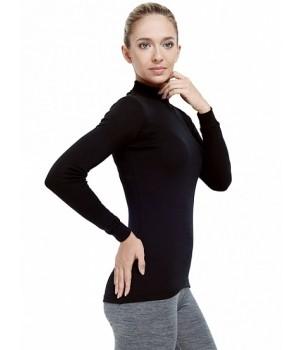 Norveg Soft City Style Водолазка женская черная