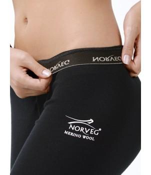 Norveg Soft Леггинсы 3/4 черные