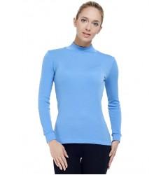 Norveg Soft City Style Водолазка женская голубая