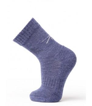 Norveg Climat Control Термоноски для детей голубые