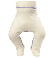Norveg Soft Ползунки детские молочного цвета