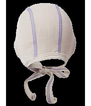 Norveg Soft Детский чепчик молочного цвета