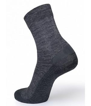 Norveg Термоноски мужские Functional Merino Wool темно-серый меланж